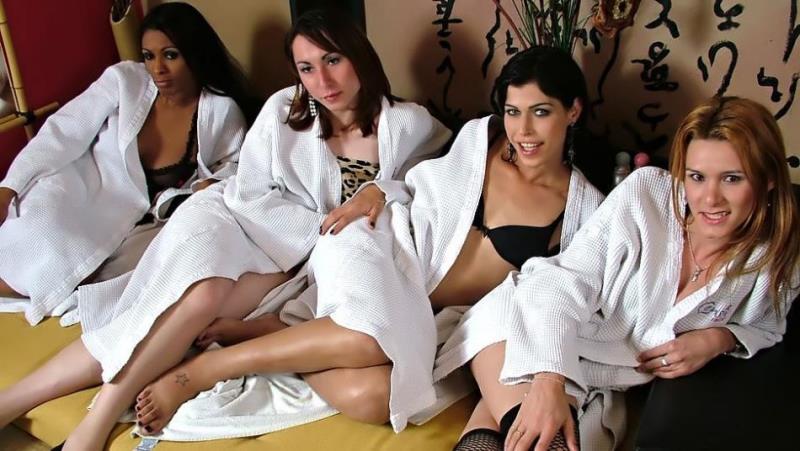 Andreia de Oliveira, Sabrina di Paula, Sabrina Sherman, Yris Schimit - Oil massage [WildShemaleOrgies] 2019