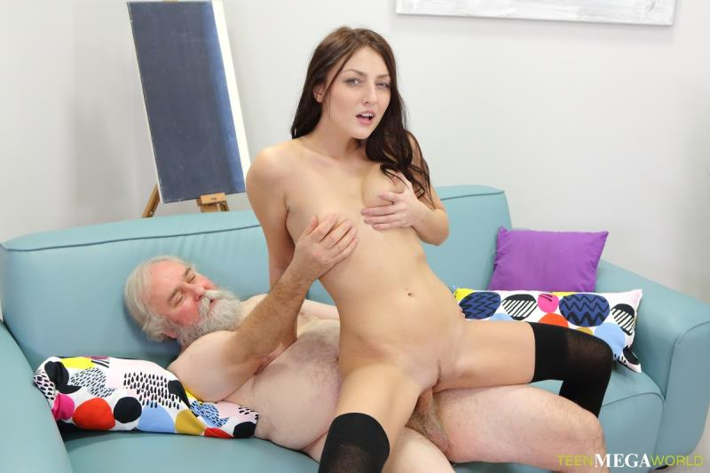 Katy Rose - Uneven-Aged Doggy Orgasm! ( 2019/Old-n-Young.com/SD)