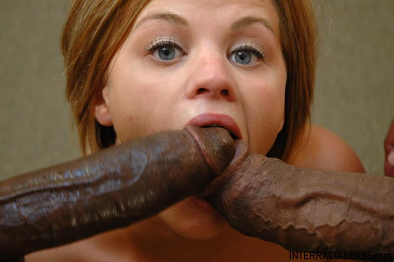 Nikki - Takes 2 Massive Black Cocks At Once! ( 2019/Interracialpass.com/SD)