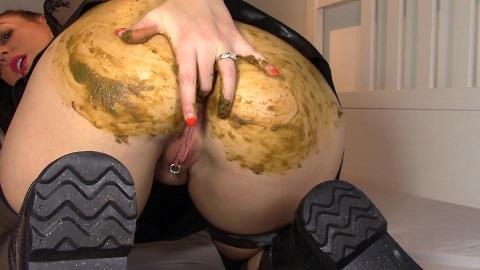 Evamarie88 - Goth Girl Shits You Cum [FullHD, 1080p] [ScatShop.com]