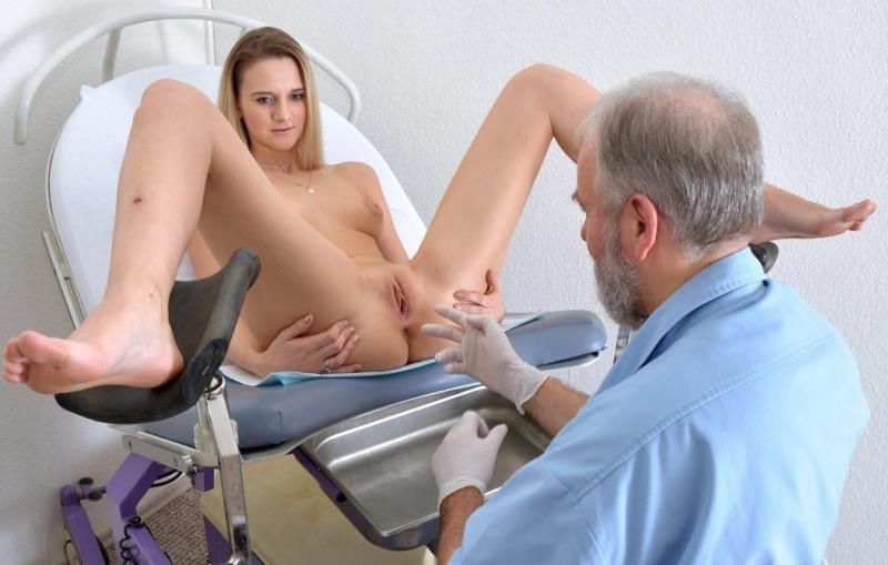 orgasm on exam table