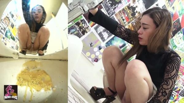 Tavern Toilet - Intense Vomiting - JAV Vomit - Part 3 (FullHD 1080p)