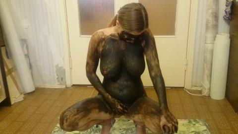 Brown wife - Black shit (FullHD 1080p)