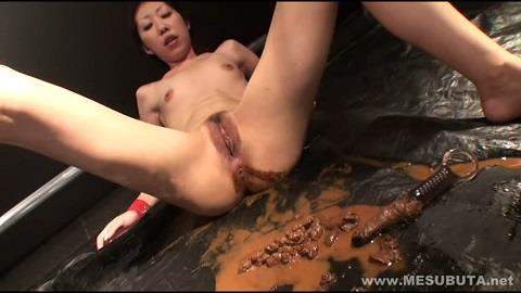 Rape girl enema and masturbation defecated (FullHD 1080p)