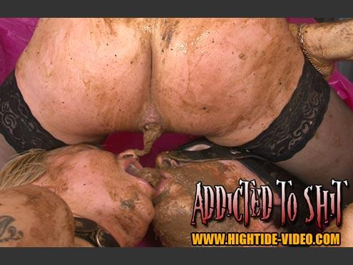 Gina, Ingrid - Addicted To Shit (SD 576p)