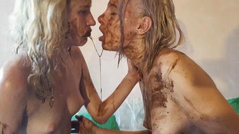 Jelena, Tiana - Scat Kisses Lesbian Erotic Russian Babes By Jelena And Tiana (FullHD 1080p)