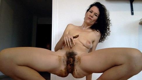 Nastymarianne - Dildo in dirty ass (HD 720p)